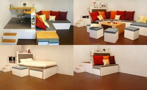 m bel f r kleine zimmer. Black Bedroom Furniture Sets. Home Design Ideas