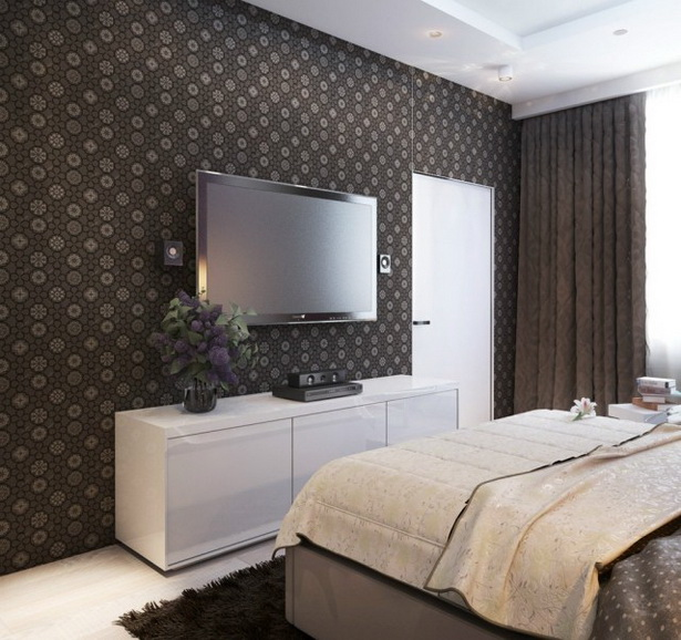 Moderne Schlafzimmer Tapeten