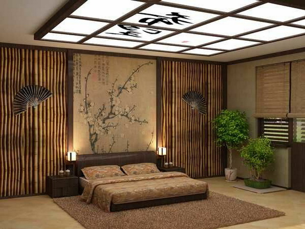 schlafzimmer asiatisch einrichten. Black Bedroom Furniture Sets. Home Design Ideas