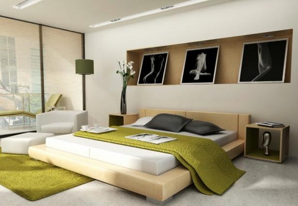 schlafzimmer einrichten ideen farben - Schlafzimmer Wande Gestalten