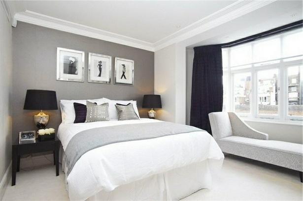 Schlafzimmer farbe grau
