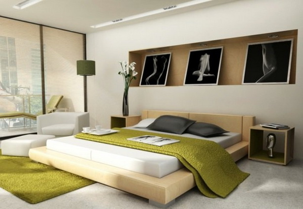 schlafzimmer farbig gestalten. Black Bedroom Furniture Sets. Home Design Ideas