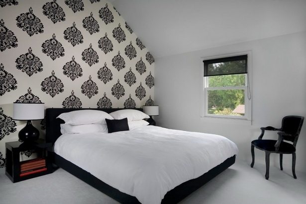 schlafzimmer gestalten tapeten. Black Bedroom Furniture Sets. Home Design Ideas