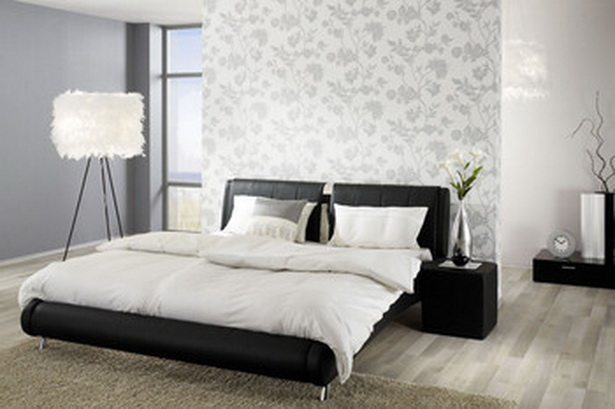 schlafzimmer gestalten tapeten. Black Bedroom Furniture Sets. Home Design Ideas