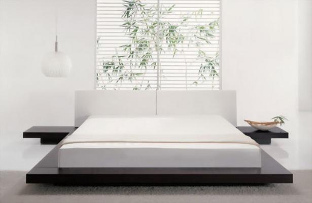 schlafzimmer japanisch einrichten. Black Bedroom Furniture Sets. Home Design Ideas