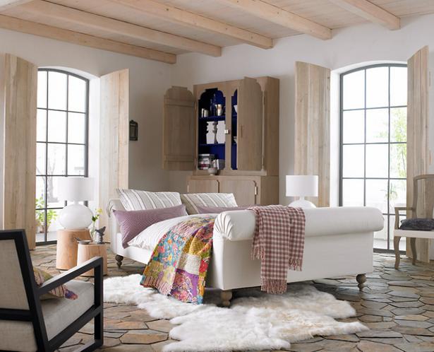 schlafzimmer mediterran gestalten. Black Bedroom Furniture Sets. Home Design Ideas