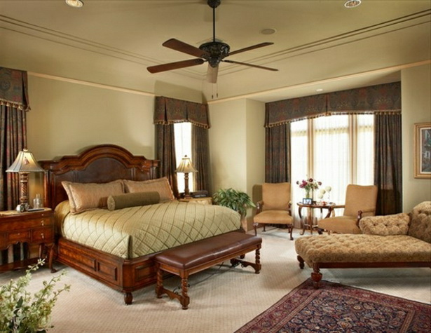 Schlafzimmer mediterran gestalten - Mediterran einrichten ...