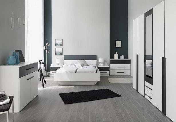 schlafzimmer weiss grau. Black Bedroom Furniture Sets. Home Design Ideas