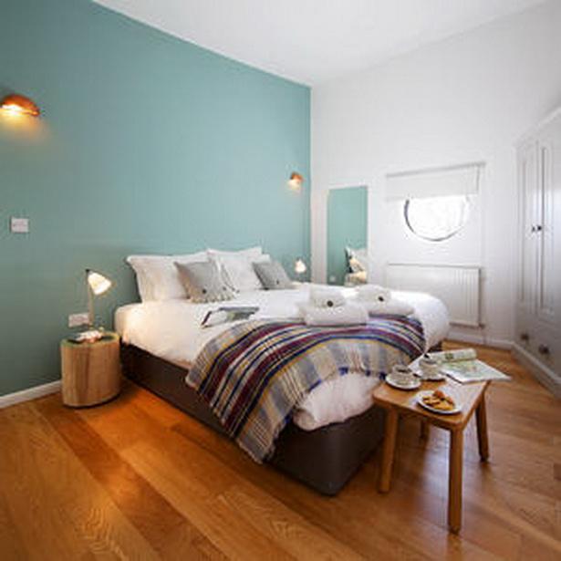 Schlafzimmer w nde gestalten - Wandfarbe purpur ...