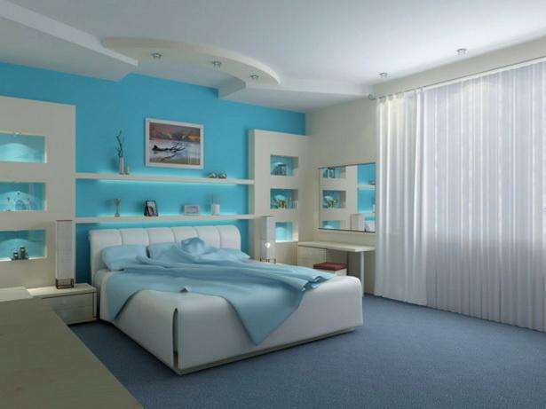 Stylisches schlafzimmer
