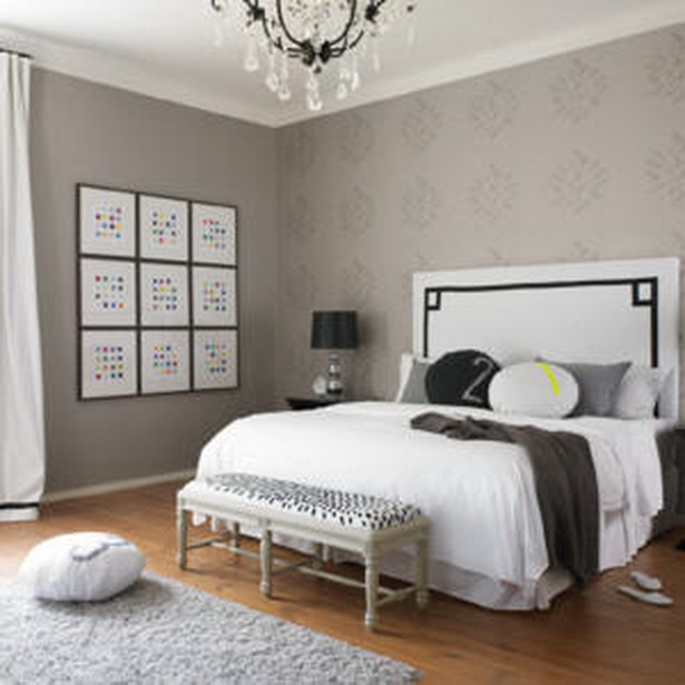 tapeten ideen f r schlafzimmer. Black Bedroom Furniture Sets. Home Design Ideas