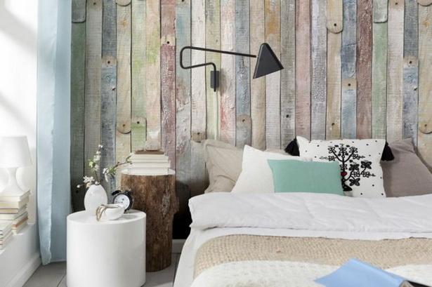 Schlafzimmer Tapeten Ideen Schöne Tapeten Holzoptik Wandgestaltung Wand