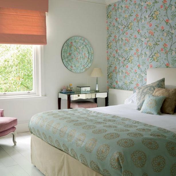 tapeten ideen schlafzimmer. Black Bedroom Furniture Sets. Home Design Ideas
