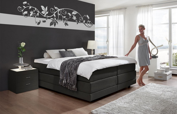 tapeten modern schlafzimmer. Black Bedroom Furniture Sets. Home Design Ideas