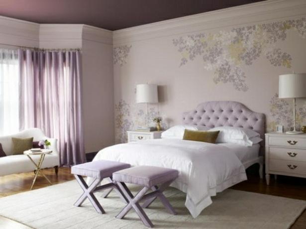 Tapeten schlafzimmer gestalten