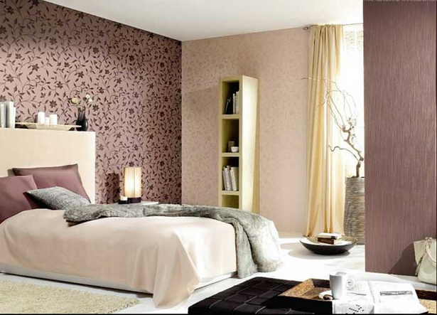 Tapeten schlafzimmer schöner wohnen