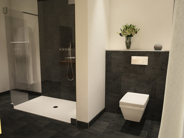 Badezimmer dusche modern