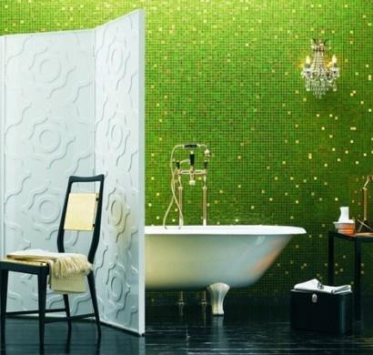Badezimmer fliesen dekorieren for Bad deko idee