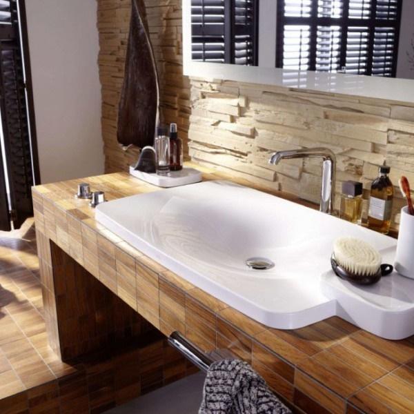 badezimmer ideen holz alles ber wohndesign und m belideen. Black Bedroom Furniture Sets. Home Design Ideas