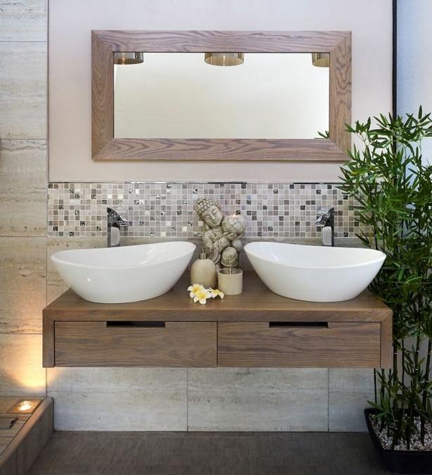 Badezimmer Ideen Holz