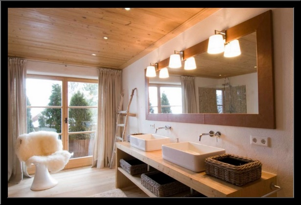 Badezimmer ideen holz for Bad design holz