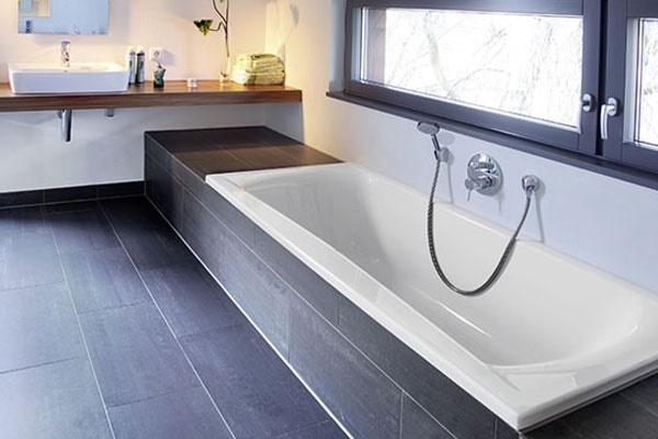 badezimmer ideen mit badewanne On badewannen einbau ideen