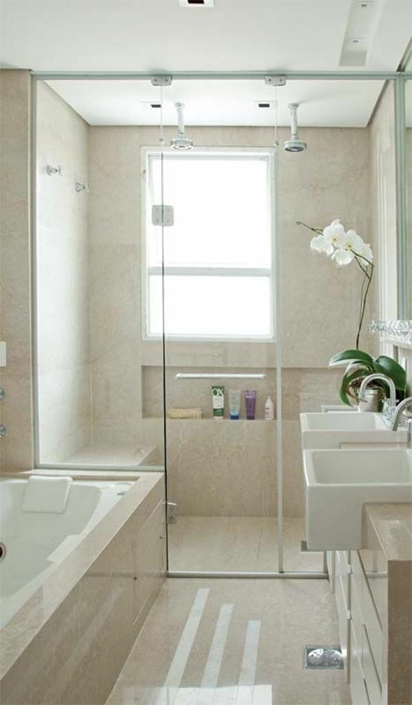 Badezimmer Mit Dusche Einrichten