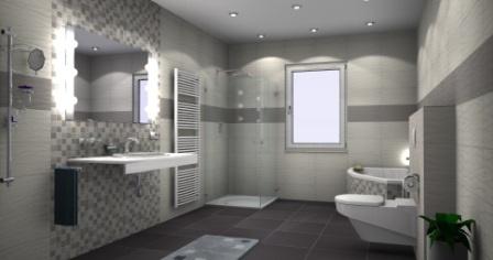 badezimmer mit fliesen gestalten. Black Bedroom Furniture Sets. Home Design Ideas