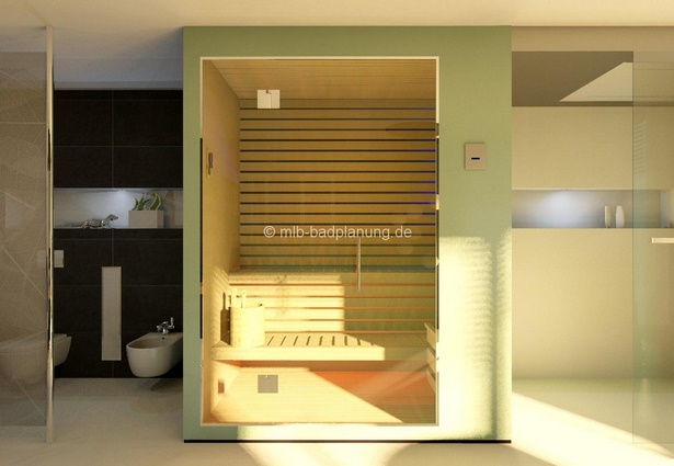 badezimmer sauna ideen. Black Bedroom Furniture Sets. Home Design Ideas