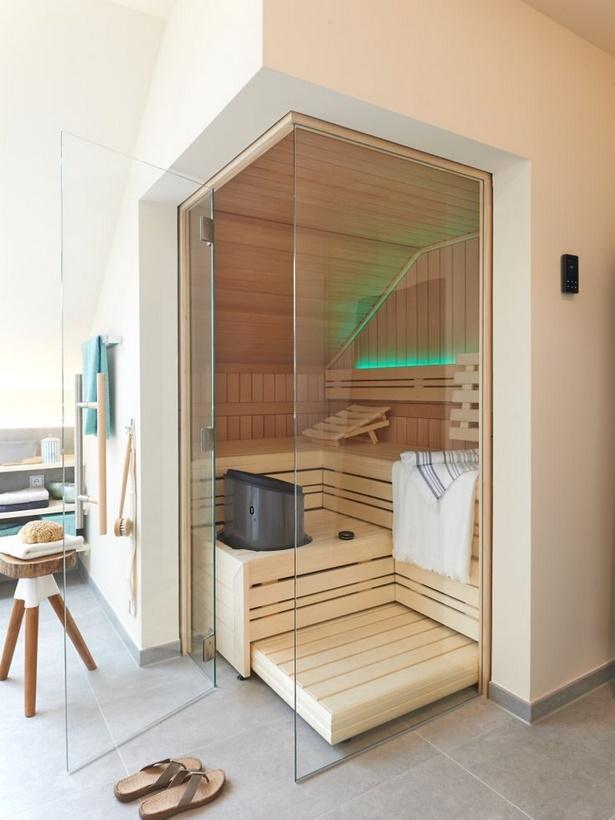 badezimmer sauna ideen. Black Bedroom Furniture Sets. Home Design Ideas