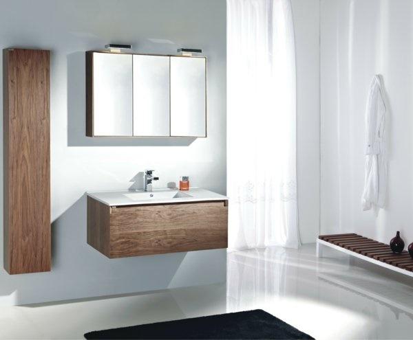 Badezimmerm bel holz modern for Badmobel modern trend