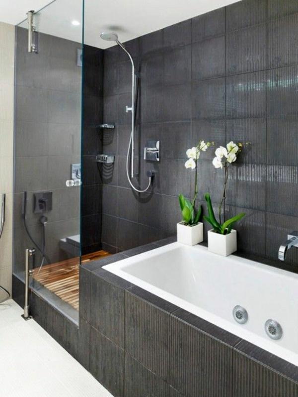 badgestaltung grau wei. Black Bedroom Furniture Sets. Home Design Ideas