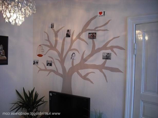baum deko wohnung. Black Bedroom Furniture Sets. Home Design Ideas