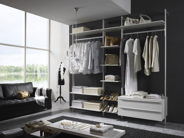 begehbarer kleiderschrank ideen. Black Bedroom Furniture Sets. Home Design Ideas