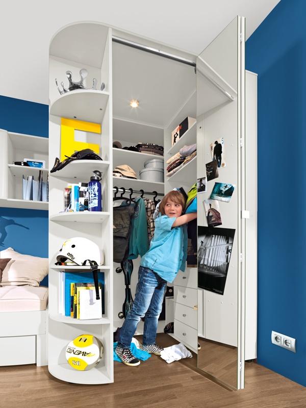begehbarer kleiderschrank kinderzimmer. Black Bedroom Furniture Sets. Home Design Ideas