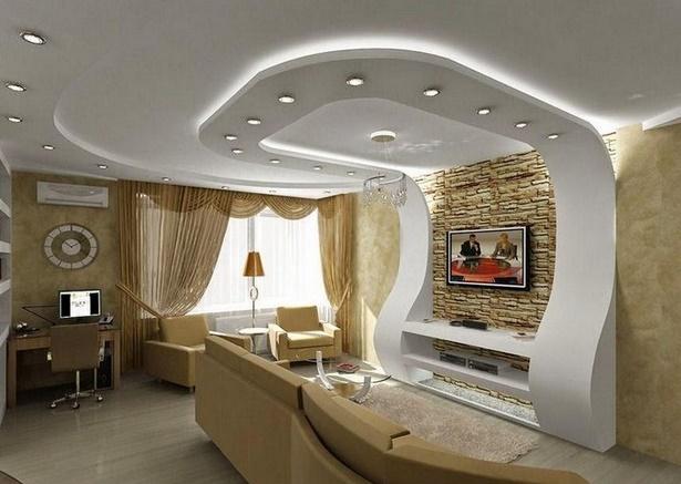 Decken deko wohnzimmer