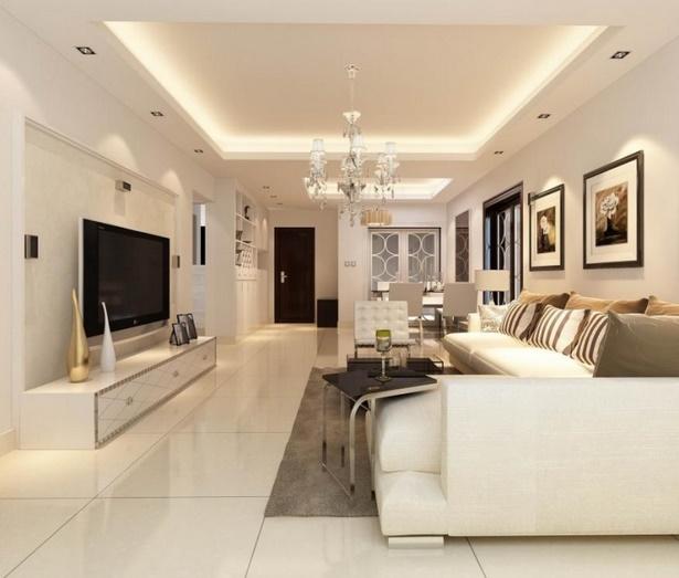 Decken deko wohnzimmer - Abgehangte decke wohnzimmer ...