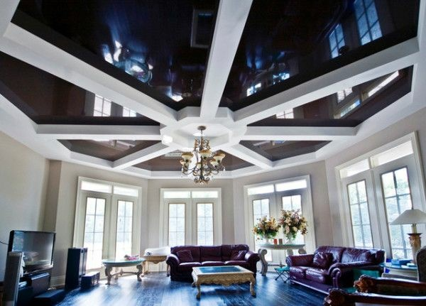 decken deko wohnzimmer ~ kreative bilder für zu hause design ... - Wohnzimmer Decken Design