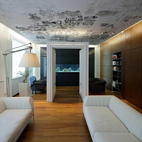 Design Decken Deko Wohnzimmer : Kleine Moderne Wohnung U2013 Downtown Wohnung  In Zagreb Von Dva Arhitekta