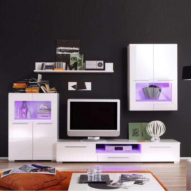 Wohnwand dekorieren home design interieur m bel ideen for Deko wohnwand