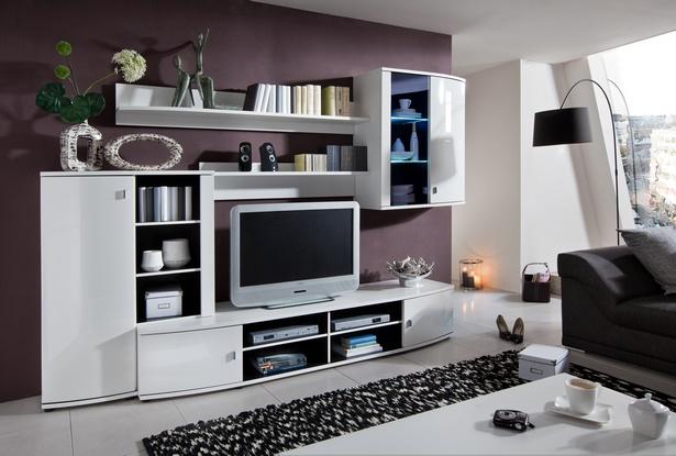 Deko f r wohnwand Wohnungseinrichtung modern