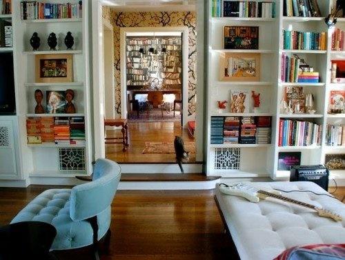 deko ideen b cherregal. Black Bedroom Furniture Sets. Home Design Ideas