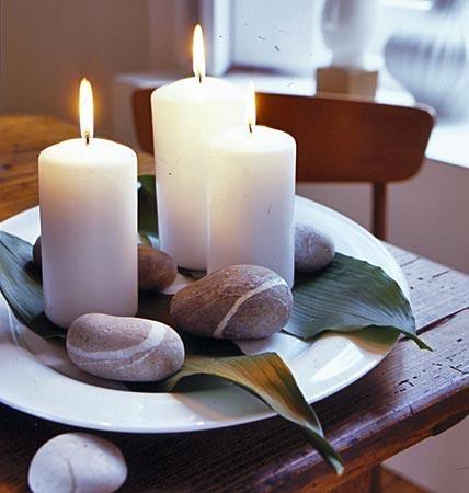 deko ideen kerzen. Black Bedroom Furniture Sets. Home Design Ideas