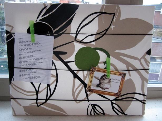 deko ideen pinnwand. Black Bedroom Furniture Sets. Home Design Ideas