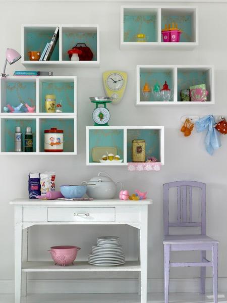 deko ideen regal. Black Bedroom Furniture Sets. Home Design Ideas