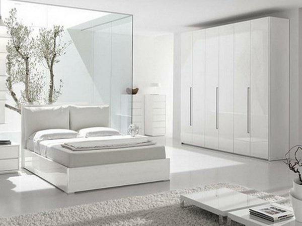 Deko ideen wei e m bel - Wandfarbe schlafzimmer weisse mobel ...