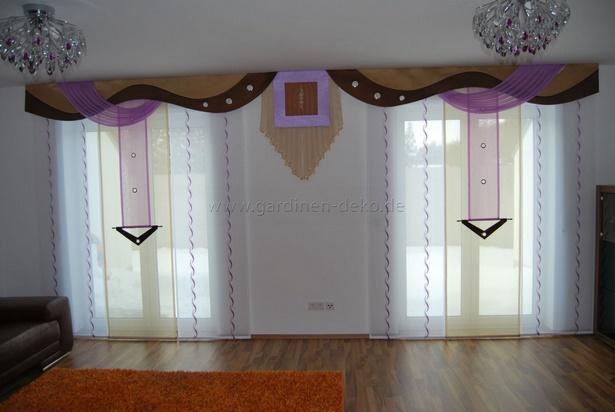 deko lila wohnzimmer