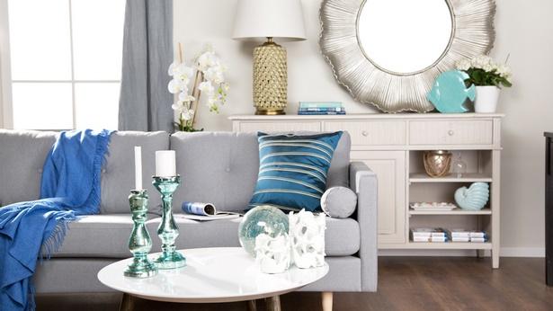 deko silber wohnzimmer