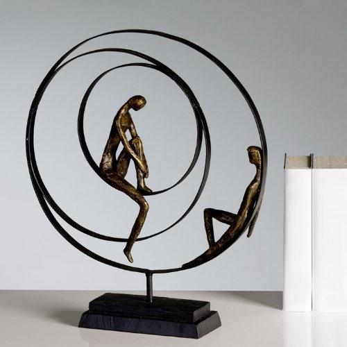 Deko Skulptur Wohnzimmer
