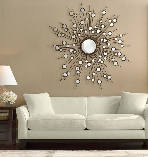 Spiegel Wohnzimmer Dekorative Funktion
